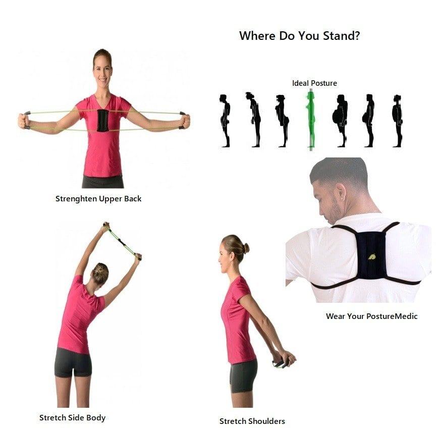 Athlete utilizing posture Medic