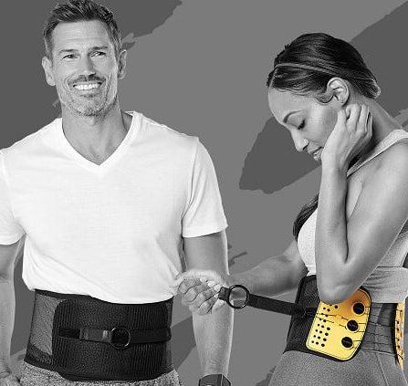 rigid back brace