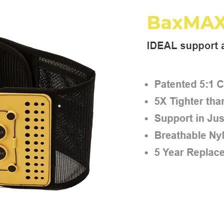 BaxMAX belt